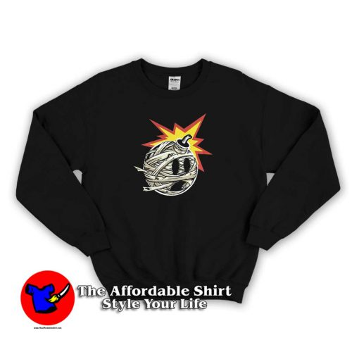 The Hundreds Mummified Adam Sweater 500x500 The Hundreds Mummified Adam Graphic Sweatshirt Cheap