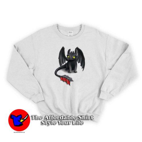 Toothless The Night Fury Sweater 500x500 Toothless The Night Fury Unisex Sweatshirt Cheap