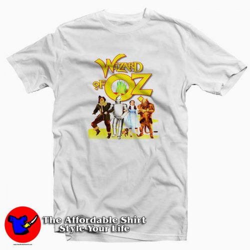 Wizard Of Oz Ladies Tshirt 500x500 Wizard Of Oz Ladies Graphic T Shirt Cheap