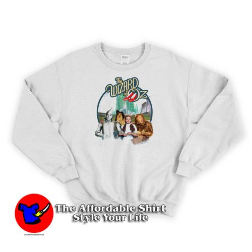 Wizard of Oz Were Off To See Wizard Graphic Sweater 500x500 Wizard of Oz Were Off To See Wizard Sweatshirt Cheap