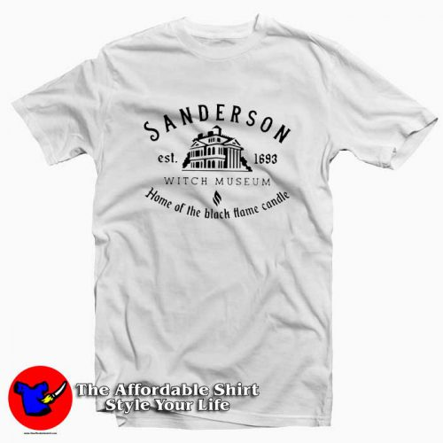 Sanderson Witch Museum home the black hame candle 500x500 Sanderson \Home The Black Hame Candle T shirt On Sale