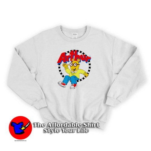 Funny Arthur Cartoon Character Unisex Sweater 500x500 Funny Arthur Cartoon Character Unisex Sweatshirt Cheap