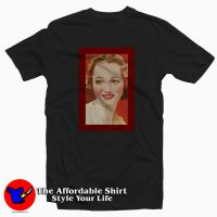Vintage Red Olivia de Havilland Unisex T-shirt