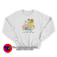 Vintage 90s Daniel Clowes's Eightball Unisex Sweatshirt