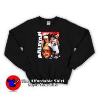 Vintage Aaliyah Rap Unisex Sweatshirt