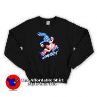 Vintage Looney Tunes Bunny Bugs Unisex Sweatshirt