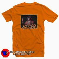 Vintage Mick Jagger Orange Unisex T-shirt