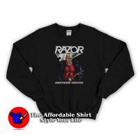 Vintage Razor Shotgun Justice Unisex Sweatshirt