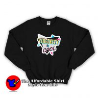 Virginity Rocks Collage is Cool Unisex Sweatshirt