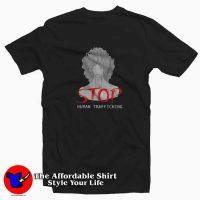 Woman Cry Want Stop Human Trafficking T-shirt
