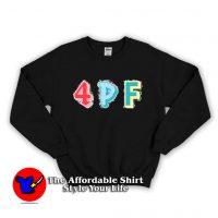 4PF Patch Colors Unisex Adult Sweatshirt