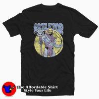Vintage Skeletor Cartoon Classic Retro T-shirt