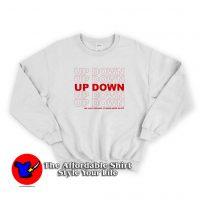 Up Down Morgan Wallen Unisex Sweatshirt
