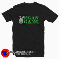 Vegan Life Official Vegan Gang Unisex T-shirt