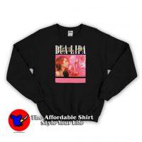 Vintage 90s Album Dua Lipa Graphic Sweatshirt