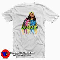 Vintage Cardi B Style 3D Unisex T-shirt
