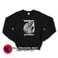 Vintage Cartoon Baphomet Satanic Symphony Sweatshirt