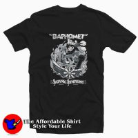 Vintage Cartoon Baphomet Satanic Symphony T-shirt