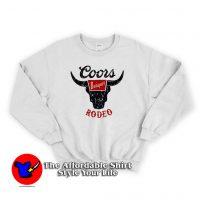 Vintage Coors Banget Rodeo Unisex Sweatshirt