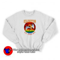Vintage Led Zeppelin US Tour 1975 Sweatshirt