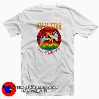 Vintage Led Zeppelin US Tour 1975 T-shirt
