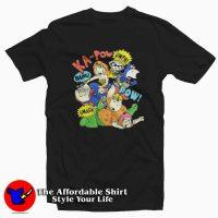 Vintage Superhero Rugrats KA-POW T-shirt