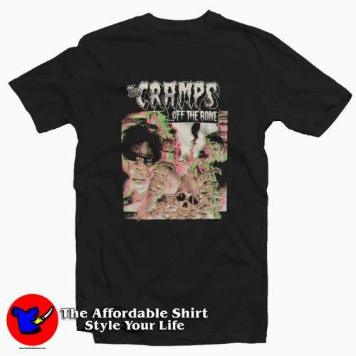 Cramps Off The Bone 3D Tshirt 500x500 Vintage Cramps Off The Bone 3D Graphic T shirt On Sale