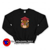 Cute Graduation Bear Kanye West Sweatshirt