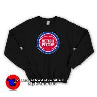Detroit Pistons Basketball Logo Unisex Sweatshirt