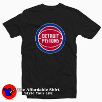 Detroit Pistons Basketball Logo Unisex T-shirt