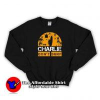 Funny Don't Surf Charlie America Unisex Sweatshirt