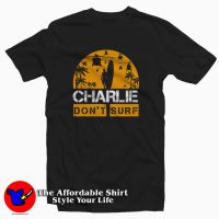 Funny Don't Surf Charlie America Unisex T-shirt