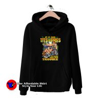Funny Saying Hot Biker Chicks Motorcycle Hoodie