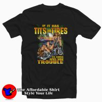 Funny Saying Hot Biker Chicks Motorcycle T-shirt