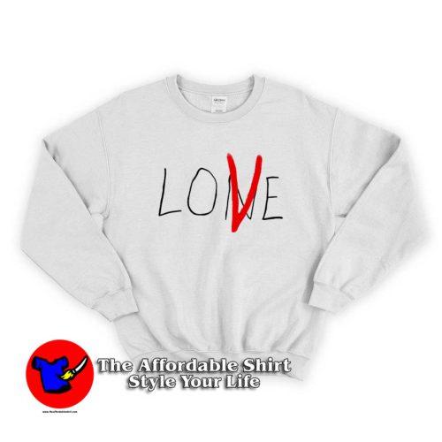 Hot Vlone Lone Love Graphic Sweater 500x500 Hot Vlone Lone Love Graphic Sweatshirt On Sale