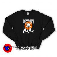 New Detroit Pistons Bad Boys Logo Sweatshirt