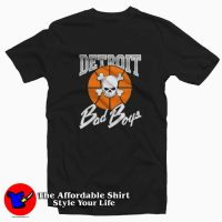 New Detroit Pistons Bad Boys Logo T-shirt