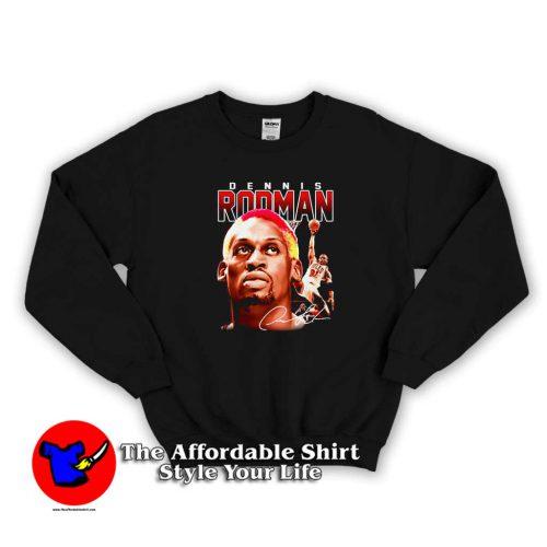 Old Vintage Dennis Rodman Black Album Sweater 500x500 Old Vintage Dennis Rodman Black Album Sweatshirt On Sale