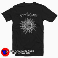 Vintage Alice in Chains Sun Logo Unisex T-shirt