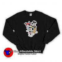 Vintage Animaniacs Dot Wakko and Yakko Sweatshirt