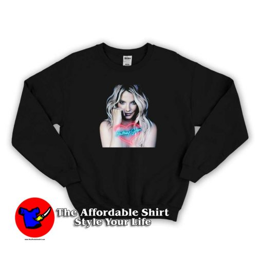 Vintage Britney Spears Album Tour Sweater 500x500 Vintage Britney Spears Album Tour Sweatshirt On Sale