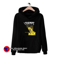 Vintage Cramps Bad Music Black Hoodie