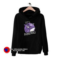 Vintage Darkwing Duck Let's Get Dangerous Hoodie