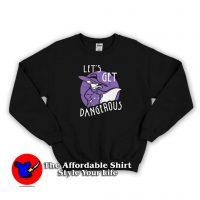 Vintage Darkwing Duck Let's Get Dangerous Sweatshirt