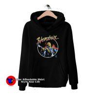 Vintage Hendrix The Legend Guitarist Hoodie
