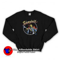 Vintage Hendrix The Legend Guitarist Sweatshirt
