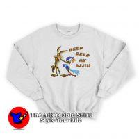 Vintage Road Runner Beep Beep My Ass Sweatshirt
