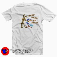 Vintage Road Runner Beep Beep My Ass T-shirt