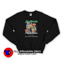 Zootopia Anniversary Thank For The Memories Sweatshirt